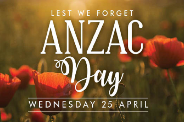 ANZAC Day 2018